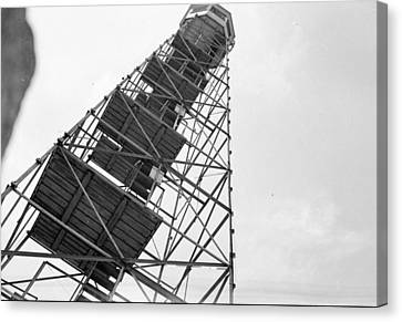 Completed Air Traffic Control Tower Canvas Print by Kevin Murphy