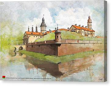 Complex Of Radziwill Canvas Print by Ctaf
