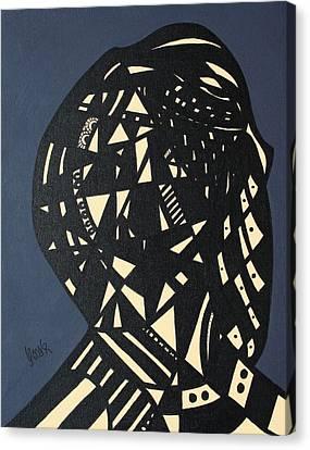 Complexity Canvas Print by Oscar Penalber