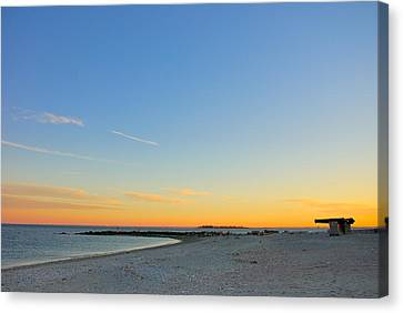 Compo Beach Canvas Print