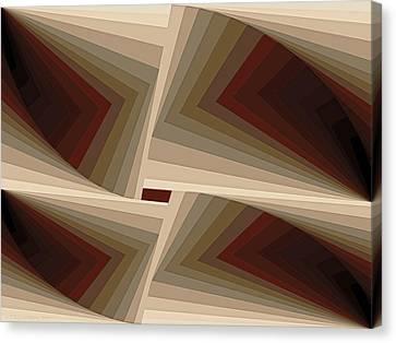 Composition 162 Canvas Print