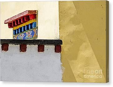 Overhang Canvas Print - Composition 2 by Hitendra SINKAR