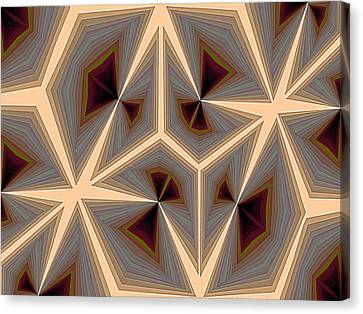 Composition 234 Canvas Print by Terry Reynoldson