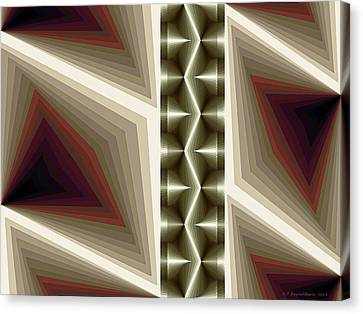 Composition 235 Canvas Print by Terry Reynoldson