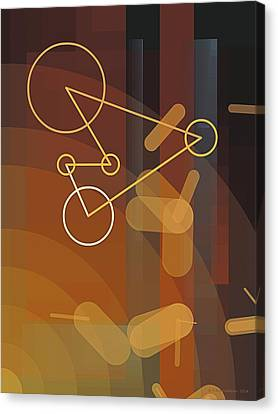Composition 50 Canvas Print by Terry Reynoldson