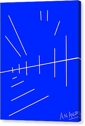 Composition-p2 Canvas Print by Anand Swaroop Manchiraju