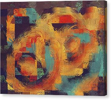 Composix - 033100100ac2t Canvas Print by Variance Collections