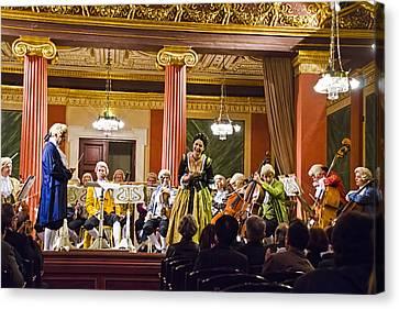 Symphony Hall Canvas Print - Concert In Vienna by Jon Berghoff