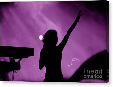 Concert Canvas Print by Michal Bednarek
