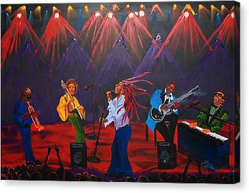 Concert Of All Concerts Canvas Print by Portland Art Creations