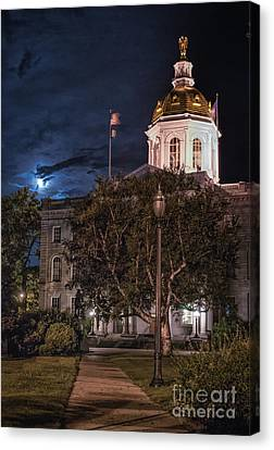 Concord By Moonlight Canvas Print by Scott Thorp