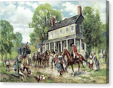 Concord, C1775 Canvas Print by Granger