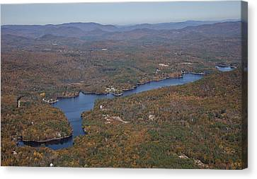 Concord Outskirts, New Hampshire Canvas Print by Dave Cleaveland