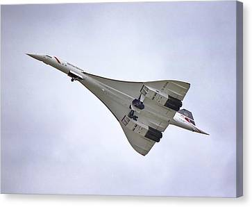 Canvas Print featuring the photograph Concorde 02 by Paul Gulliver