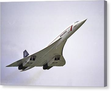 Canvas Print featuring the photograph Concorde 03 by Paul Gulliver