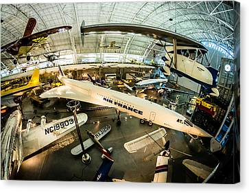Concorde Canvas Print by Randy Scherkenbach