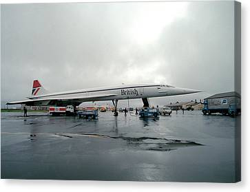 Concorde Refuelling Canvas Print by Us National Archives