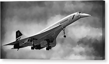 Concorde Supersonic Transport S S T Canvas Print