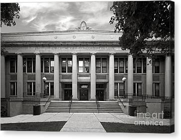 Concordia University Chicago Addison Hall Canvas Print by University Icons