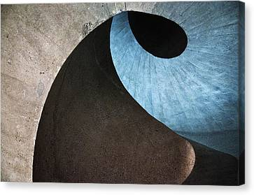 Concrete Wave Canvas Print by Linda Wride