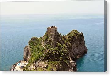 Outlook Canvas Print - Concu Dei Marini Amalfi by Marilyn Dunlap