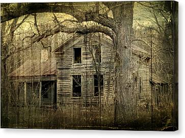 Condemned From Life Canvas Print by Melissa Smith