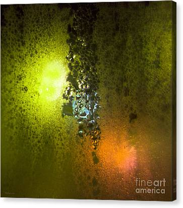 Condensation 08 - Saga - Citrus Canvas Print by Pete Edmunds
