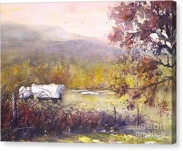 Conestoga Wagons West Canvas Print