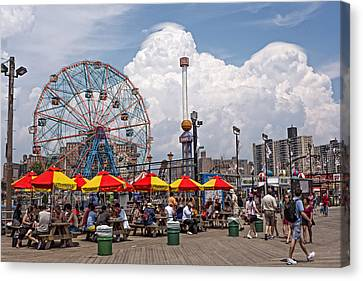 Coney Island June 2013 Canvas Print