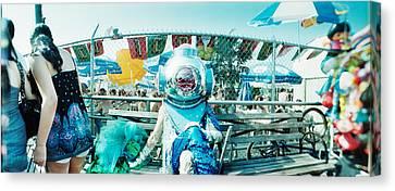 Coney Island Mermaid Parade, Coney Canvas Print
