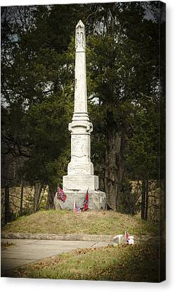Confederate Dead Canvas Print by Bradley Clay