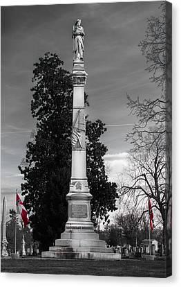 Confederate Monument Canvas Print