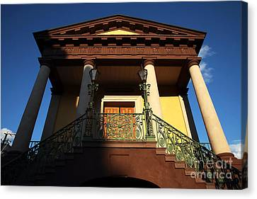 Confederate Museum Canvas Print by John Rizzuto