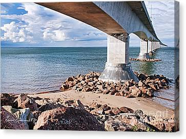 Confederation Bridge Canvas Print
