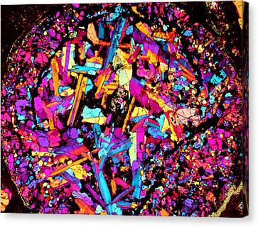 Confetti Canon Ball Canvas Print