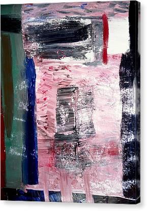 Confusion Canvas Print by Fatiha Boudar