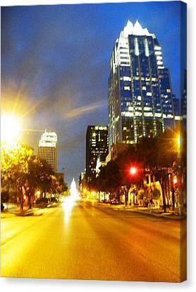Congress Boulevard Austin Canvas Print