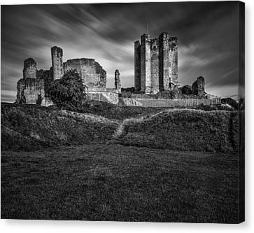 Conisbrough Castle Doncaster Canvas Print