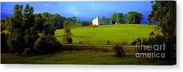 Conley Road Farm Spring Time Canvas Print