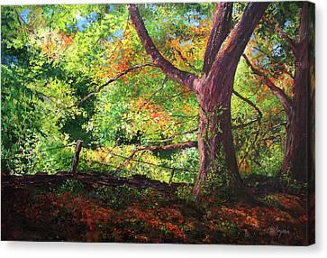 Connecticut Autumn Canvas Print