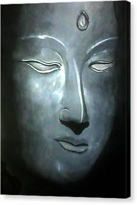 Connection Canvas Print by Gopal Maheshwari
