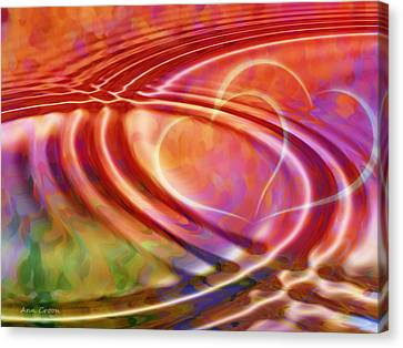 Connexion Canvas Print by Ann Croon