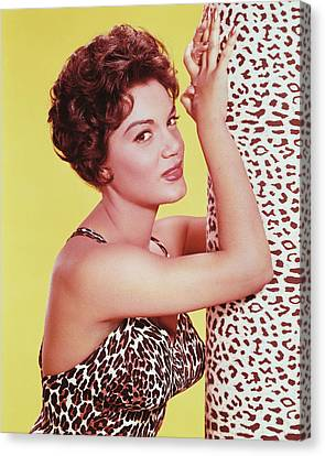 Connie Francis Canvas Print