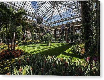 Conservatory Canvas Print by Phil Abrams