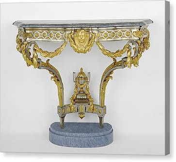 Console Table Attributed To Pierre Deumier, French, Active Canvas Print