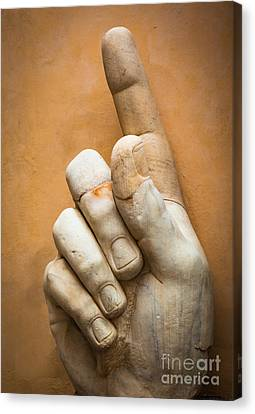 Constantine's Finger Canvas Print by Inge Johnsson
