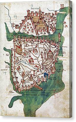 Constantinople, 1420 Canvas Print by Granger