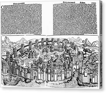 Constantinople, 1493 Canvas Print by Granger