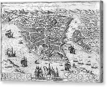 Constantinople, 1576 Canvas Print by Granger