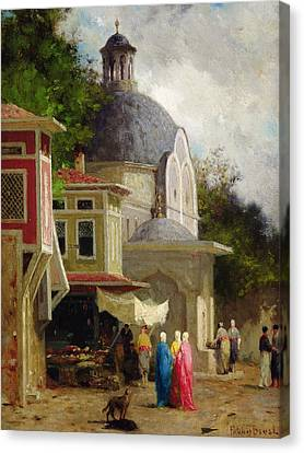 Constantinople Canvas Print by Fabius Brest